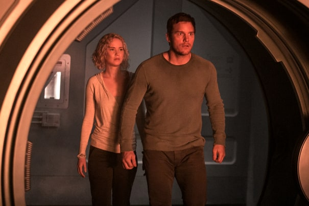 Chris Pratt; Jennifer Lawrence - Passengers.jpeg
